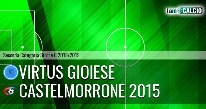 Virtus Gioiese - Castelmorrone 2015