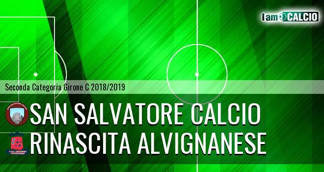 San Salvatore Calcio - Rinascita Alvignanese