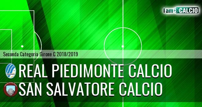 Real Piedimonte Calcio - San Salvatore Calcio