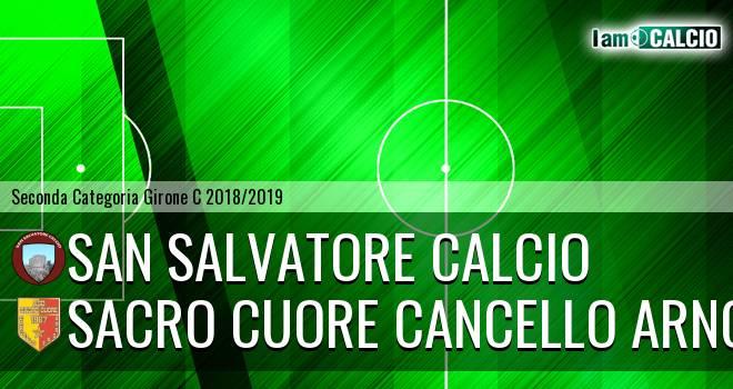 San Salvatore Calcio - Sacro Cuore Cancello Arnone