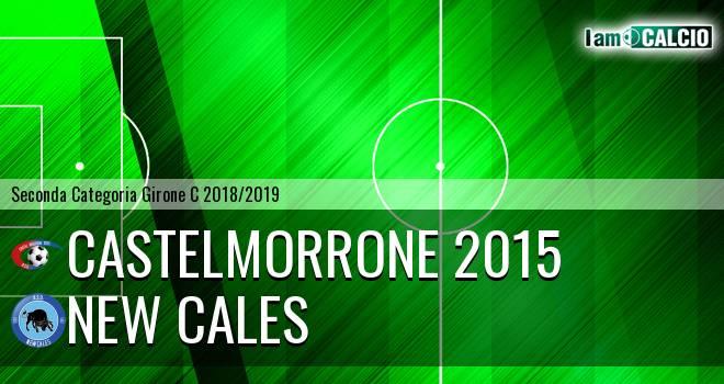 Castelmorrone 2015 - New Cales