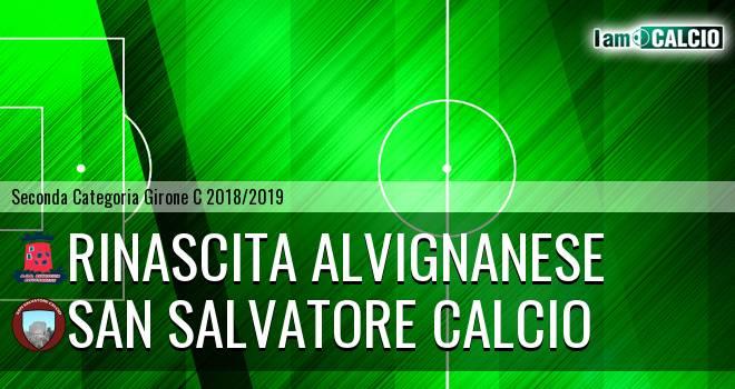 Rinascita Alvignanese - San Salvatore Calcio