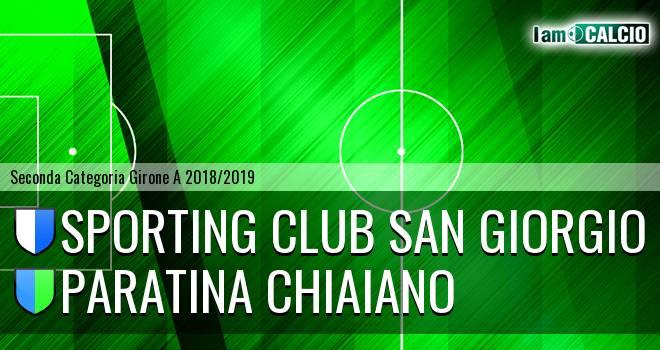 Sporting Club San Giorgio - Paratina Chiaiano