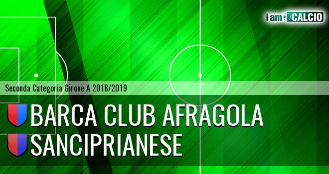Barca Club Afragola - Sanciprianese