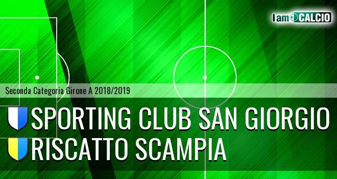 Sporting Club San Giorgio - Riscatto Scampia