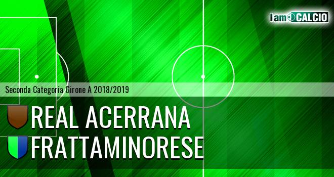 Real Acerrana - Frattaminorese