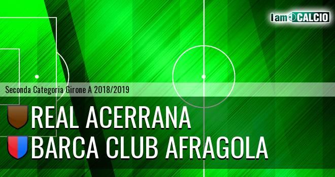 Real Acerrana - Barca Club Afragola