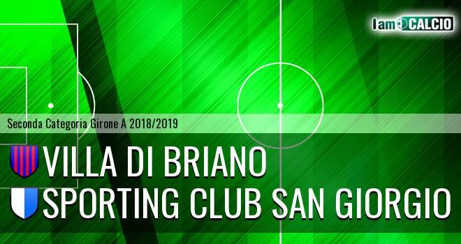 Villa di Briano - Sporting Club San Giorgio