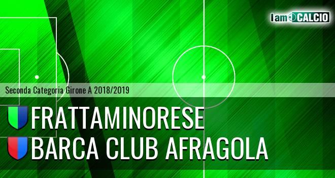 Frattaminorese - Barca Club Afragola