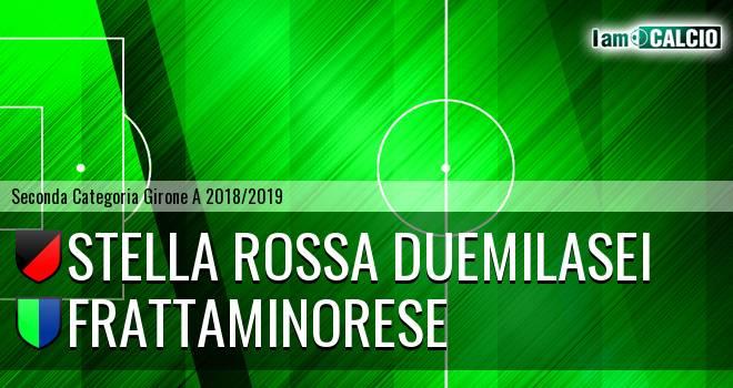 Stella Rossa Duemilasei - Frattaminorese