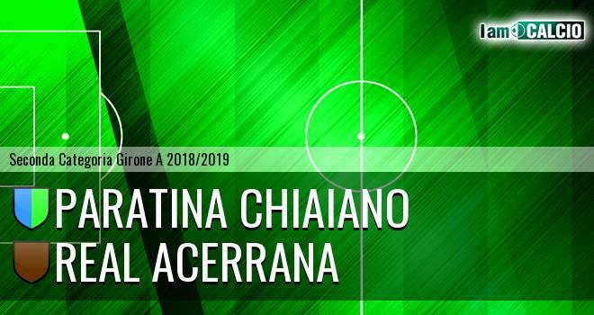 Paratina Chiaiano - Real Acerrana