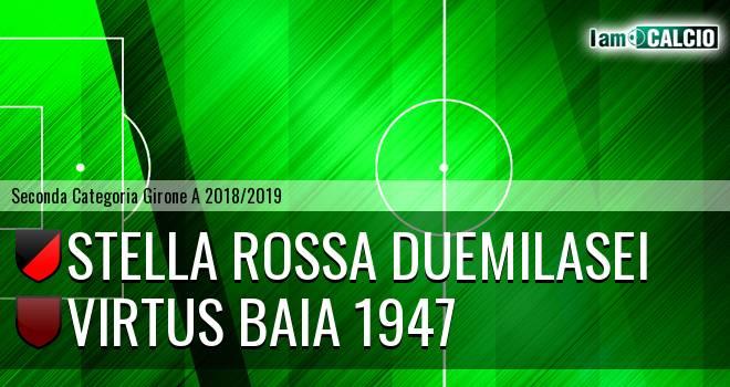 Stella Rossa Duemilasei - Virtus Baia 1947