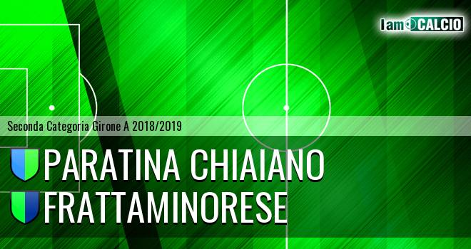Paratina Chiaiano - Frattaminorese
