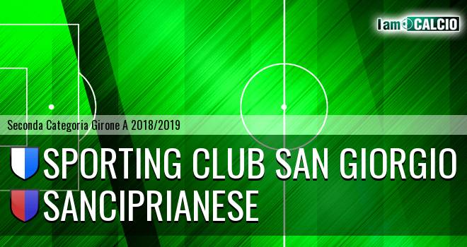 Sporting Club San Giorgio - Sanciprianese