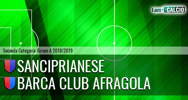 Sanciprianese - Barca Club Afragola