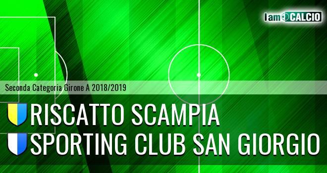 Riscatto Scampia - Sporting Club San Giorgio