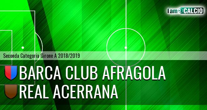 Barca Club Afragola - Royal Acerrana 2019
