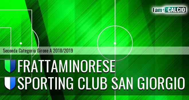 Frattaminorese - Sporting Club San Giorgio