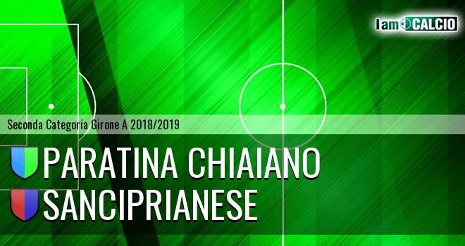 Paratina Chiaiano - Sanciprianese