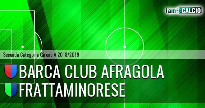 Barca Club Afragola - Frattaminorese