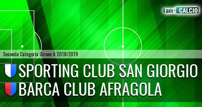 Sporting Club San Giorgio - Barca Club Afragola