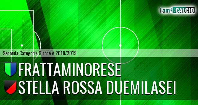 Frattaminorese - Stella Rossa Duemilasei