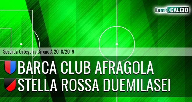 Barca Club Afragola - Stella Rossa Duemilasei