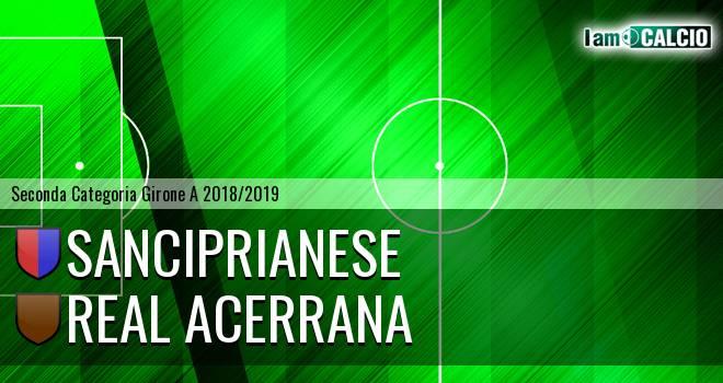 Sanciprianese - Real Acerrana