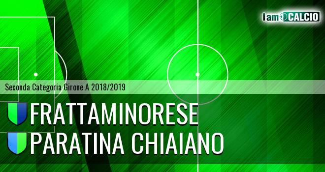 Frattaminorese - Paratina Chiaiano