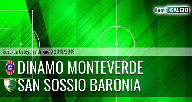 Dinamo Monteverde - San Sossio Baronia