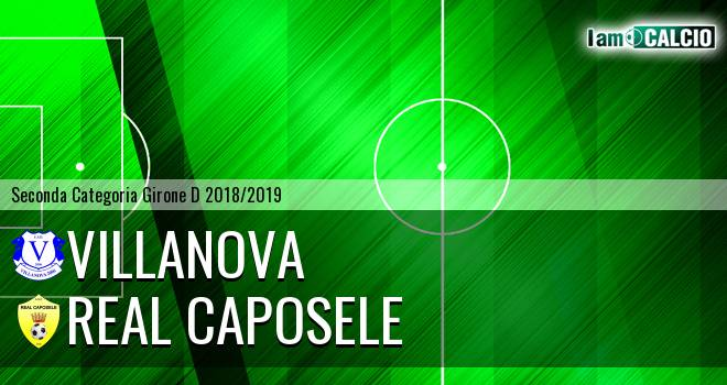 Villanova - Real Caposele