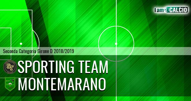 Sporting Team Maroso - Montemarano