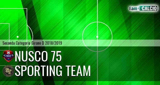 Nusco 75 - Sporting Team Maroso
