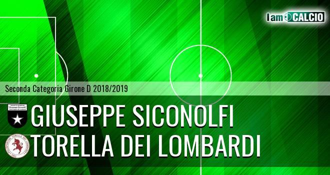 Giuseppe Siconolfi - Torella dei Lombardi