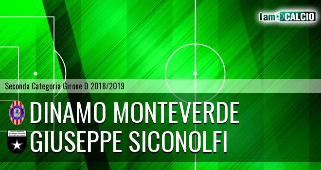 Dinamo Monteverde - Giuseppe Siconolfi
