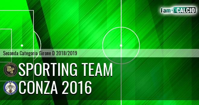 Sporting Team Maroso - Conza 2016