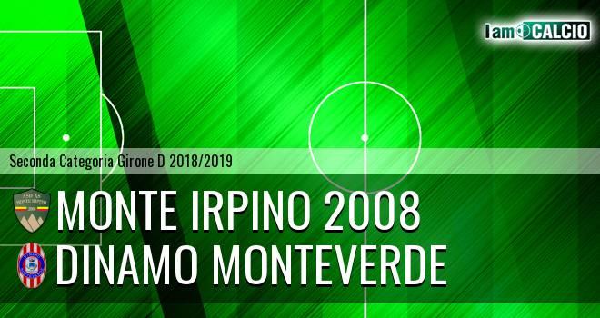 Monte Irpino 2008 - Dinamo Monteverde. Cronaca Diretta 13/02/2019