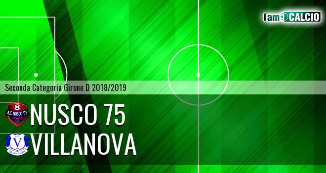 Nusco 75 - Villanova