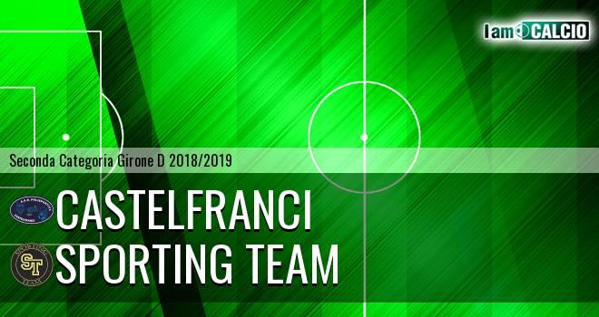 Castelfranci - Sporting Team Maroso