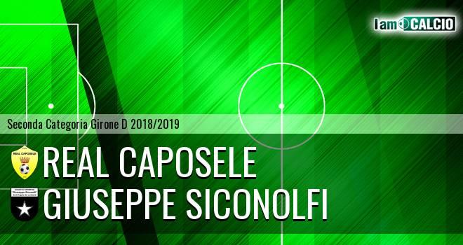 Real Caposele - Giuseppe Siconolfi