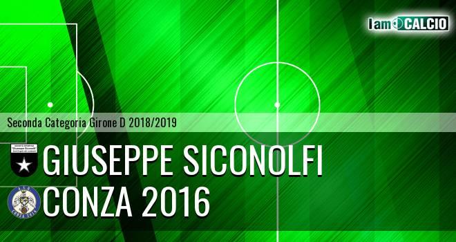 Giuseppe Siconolfi - Conza 2016