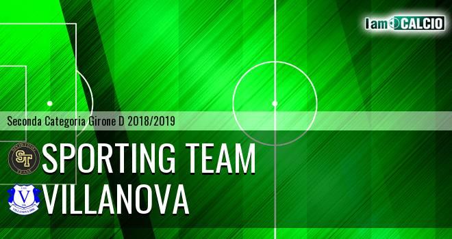 Sporting Team - Villanova