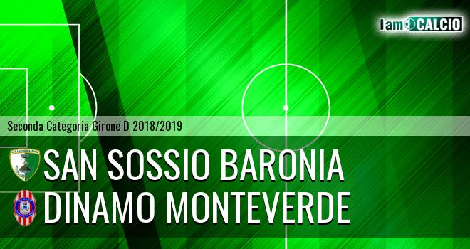 San Sossio Baronia - Dinamo Monteverde