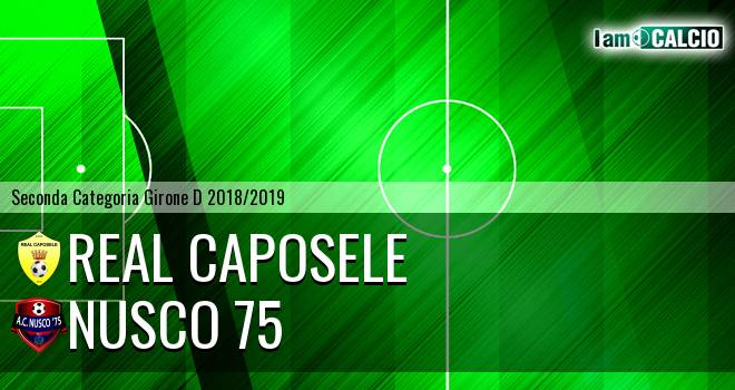 Real Caposele - Nusco 75