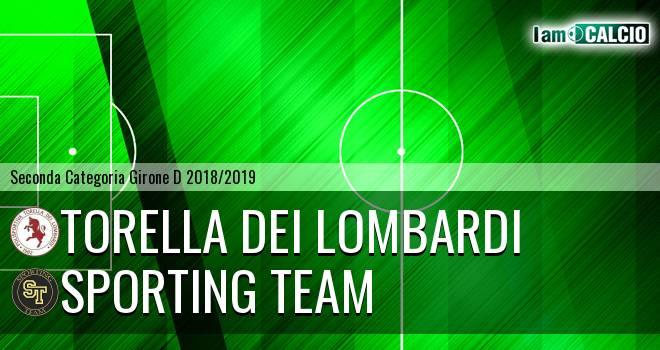 Torella dei Lombardi - Sporting Team Maroso