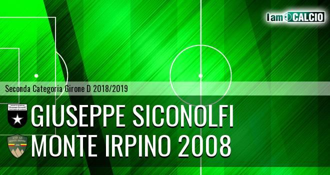 Giuseppe Siconolfi - Monte Irpino 2008