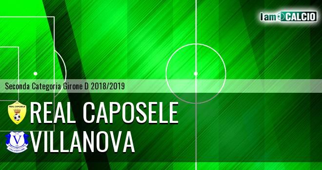 Real Caposele - Villanova
