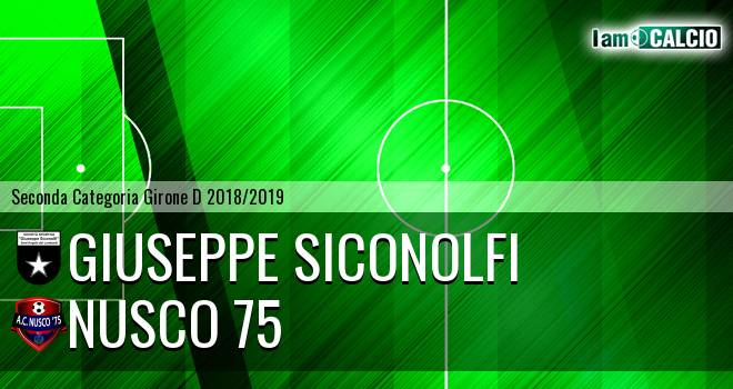 Giuseppe Siconolfi - Nusco 75