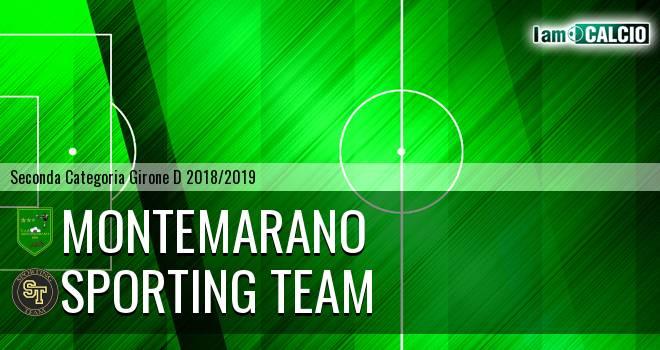 Montemarano - Sporting Team