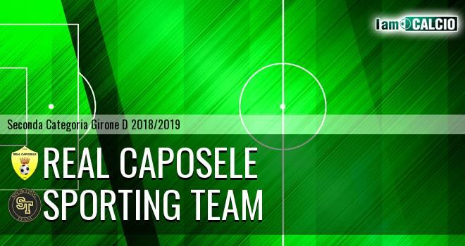 Real Caposele - Sporting Team